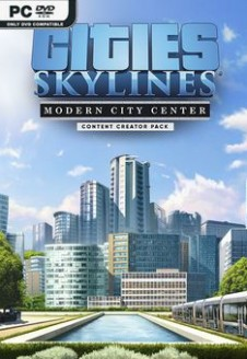 Cities Skylines Modern City Center